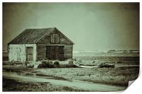 The old coal store!, Print