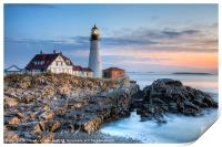 Portland Head Light Sunrise I, Print