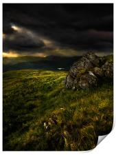 A view from great rigg, Print