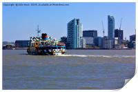 Ferry Across the Mersey, Print