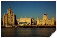 Liverpool Waterfront Skyline, Print