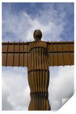 Angel of the North, Print