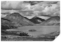 Wastwater and Great Gable, Print