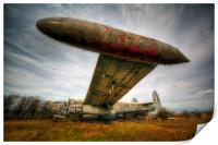 Avro Shackleton, Print