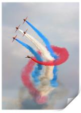 The Red Arrows, Print
