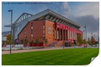 Anfield - The New Main Stand, Print