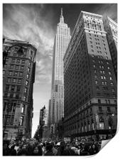 Empire State Building, Print