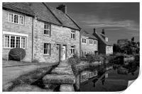 Swanage Mill Pond & Cottages, Print