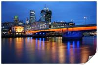 London Bridge Reflections, Print