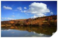 Ulley Reservoir Reflections, Print