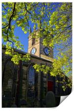 St Thomas Church, Kimberworth,Rotherham, Print