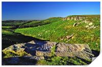 Upper Burbage Valley, Print