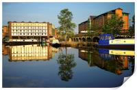 Victoria Quays Tranquility, Print