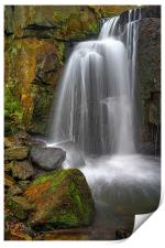 Lumsdale Falls , Print