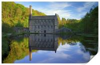 Gibson Mill, Hardcastle Crags, Hebdon Bridge , Print