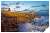 Portland Bill Lighthouse                          , Print