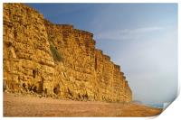 East Cliff,West Bay                     , Print