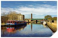 Victoria Quays, Sheffield                         , Print