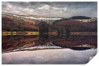 Derwent Winter Reflections                        , Print