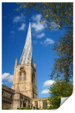 Church of St Mary and All Saints, Chesterfield    , Print