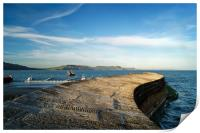 The Cobb, Lyme Regis                    , Print
