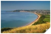 Swanage from Ballard Down                     , Print