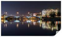 Trent Bridge Reflections, Print