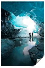 The Crystal Cave , Print