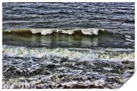 A wave of reflection, Print